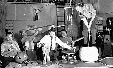 special effects when radio was theater of the mind | Old time radio, Radio play, Vintage radio
