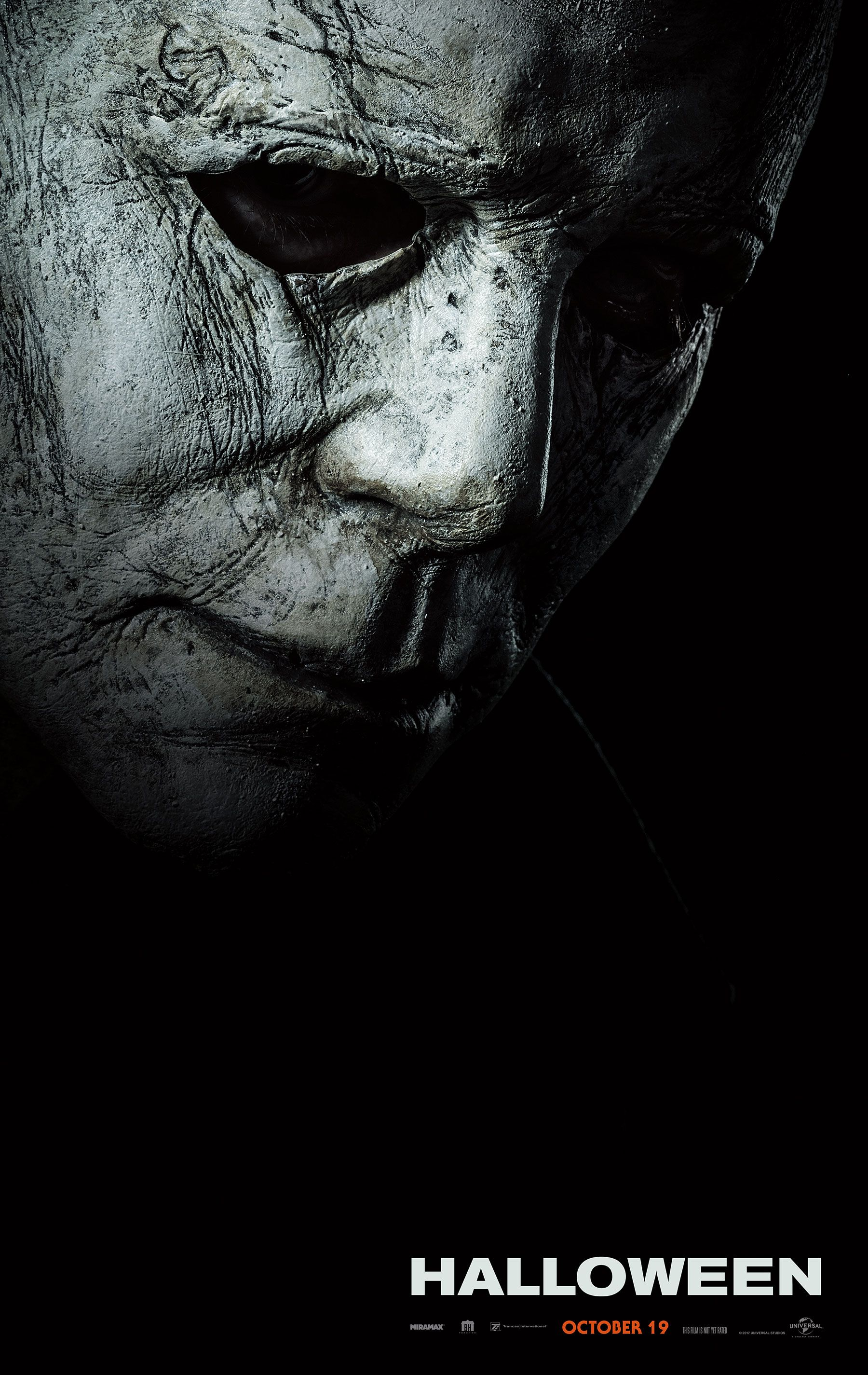 Michael Myers shows his face in first 'Halloween' poster