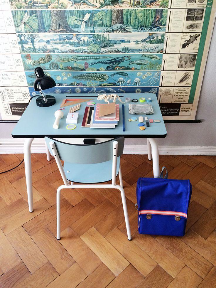 Ein Schreibtisch für das Schulkind Kinderzimmer junge