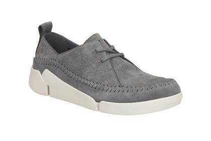 Clarks Tri Angel GreyBlue Womens Casual Shoes