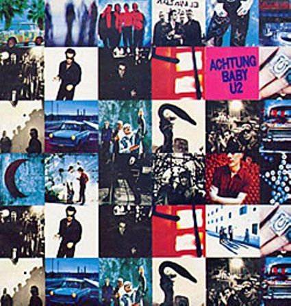 U2 Achtung Baby Remastered 180 Gram Vinyl Record Album Lp High Quality Import Achtung Baby Popular Music Vinyl Record Album