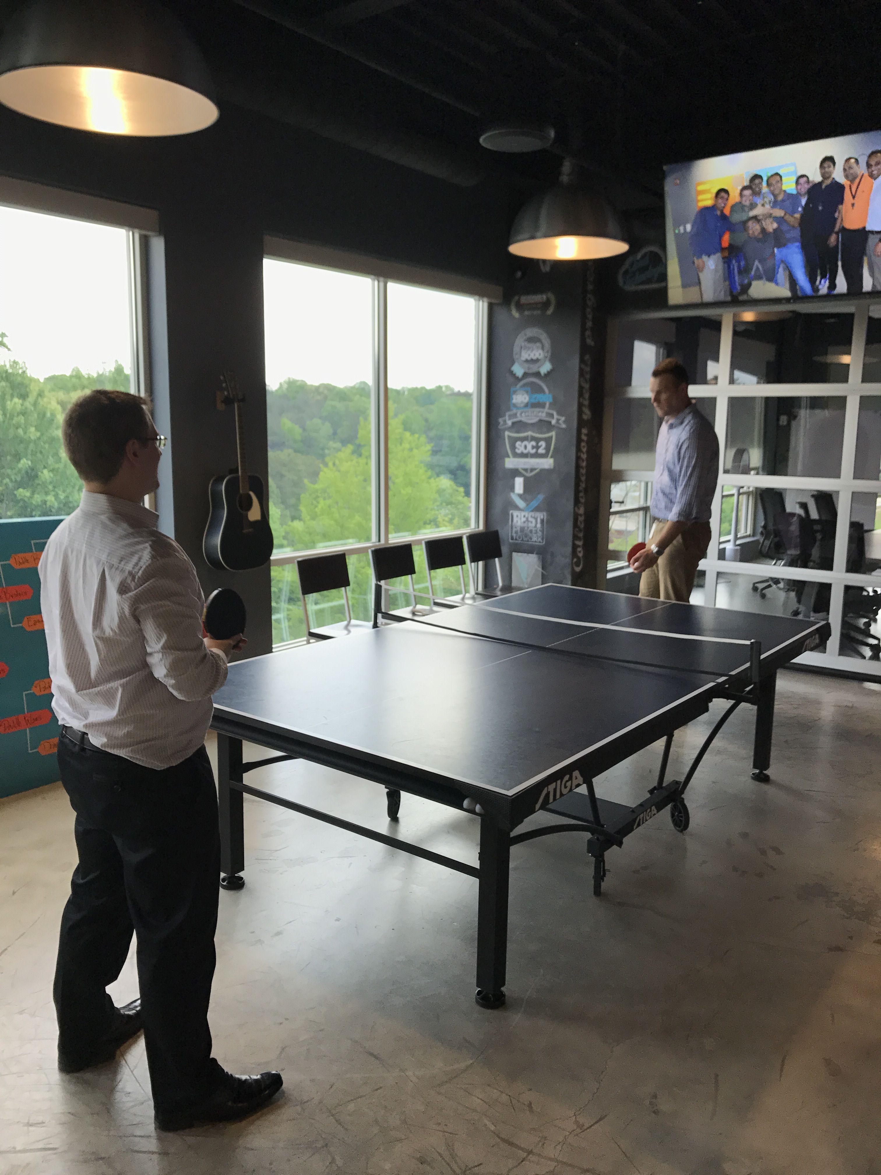 Ping Pong Table In Break Room Break Room Ping Pong Table Game Room
