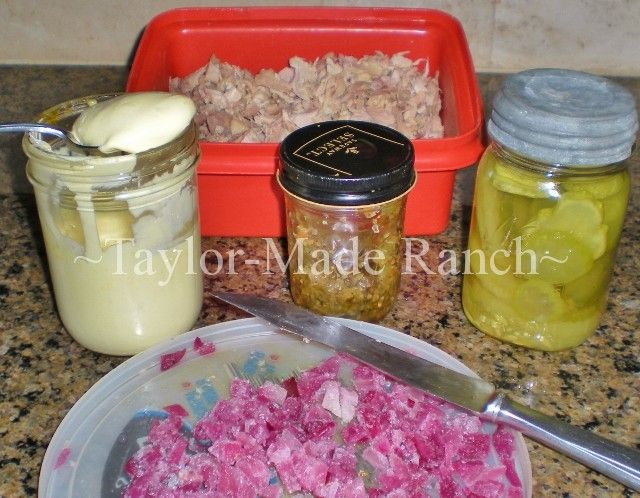"I like to play a game in my kitchen called ""HOW HOMEMADE *IS* IT??""  Did I assemble the ingredients?  Did I grow the ingredients?  Did I even make the condiments??  It's a fun game & a great way to save money on your grocery budget - check it out!  #TaylorMadeRanch"
