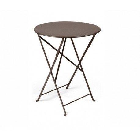Acheter Table bistro ronde 60cm fermob - Tables de jardin ...