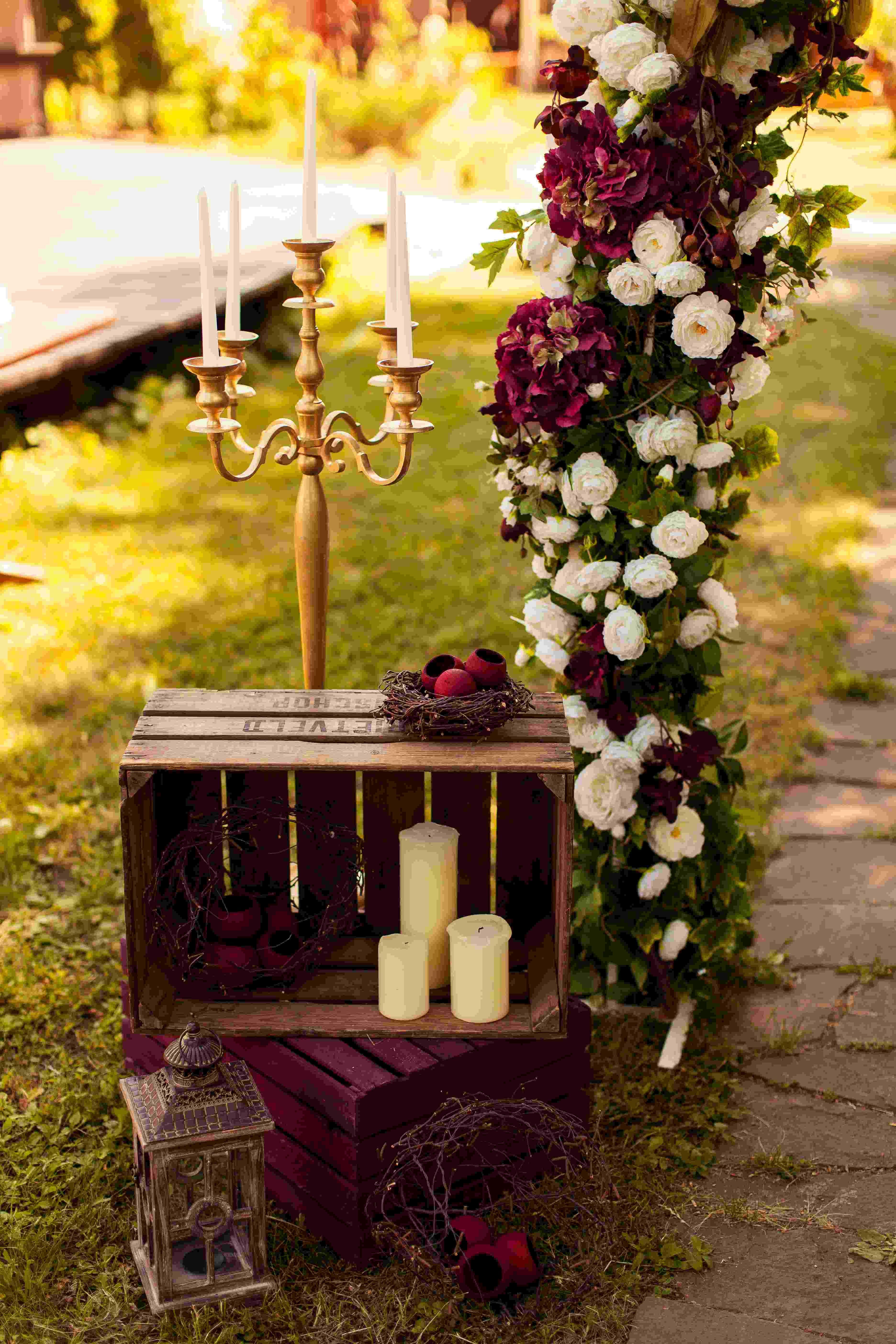 wedding arch, wedding, ceremony wedding, decor, rustic, wedding ...