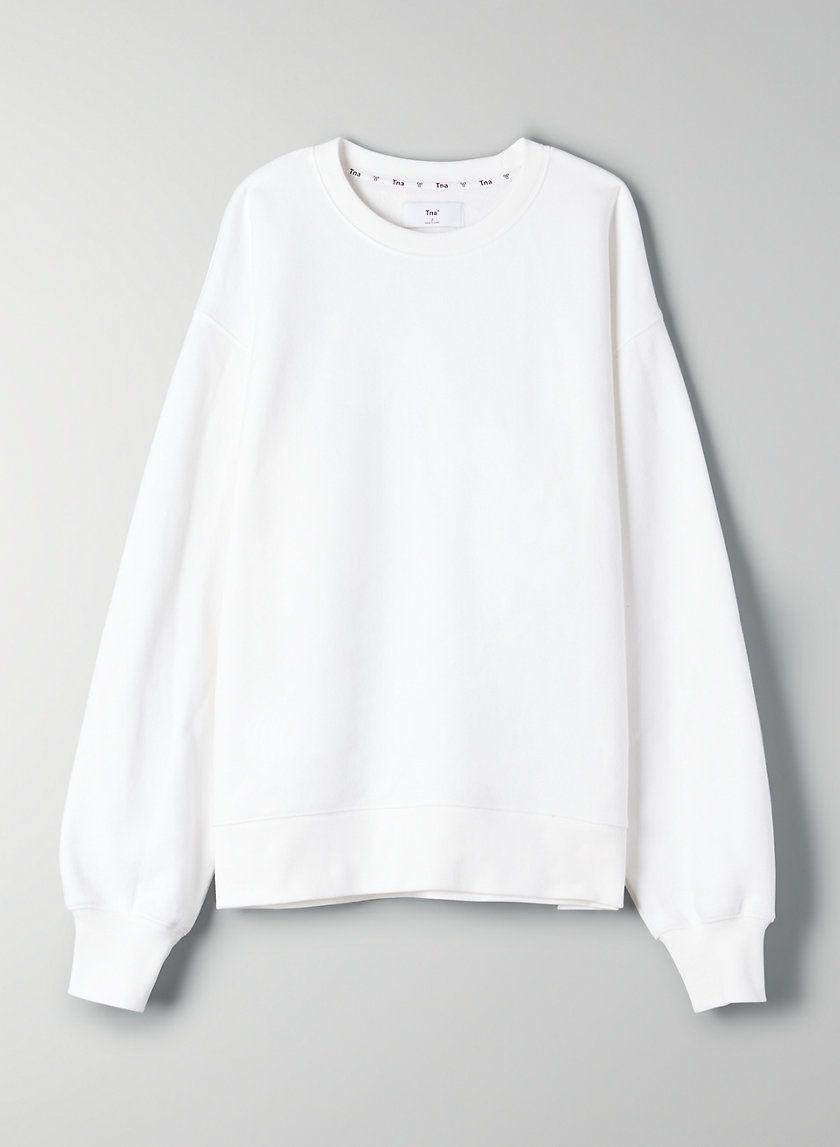 Cozy Fleece Boyfriend Crew Sweatshirt Sweatshirts Crew Sweatshirts Crew Neck Sweatshirt [ 1147 x 840 Pixel ]