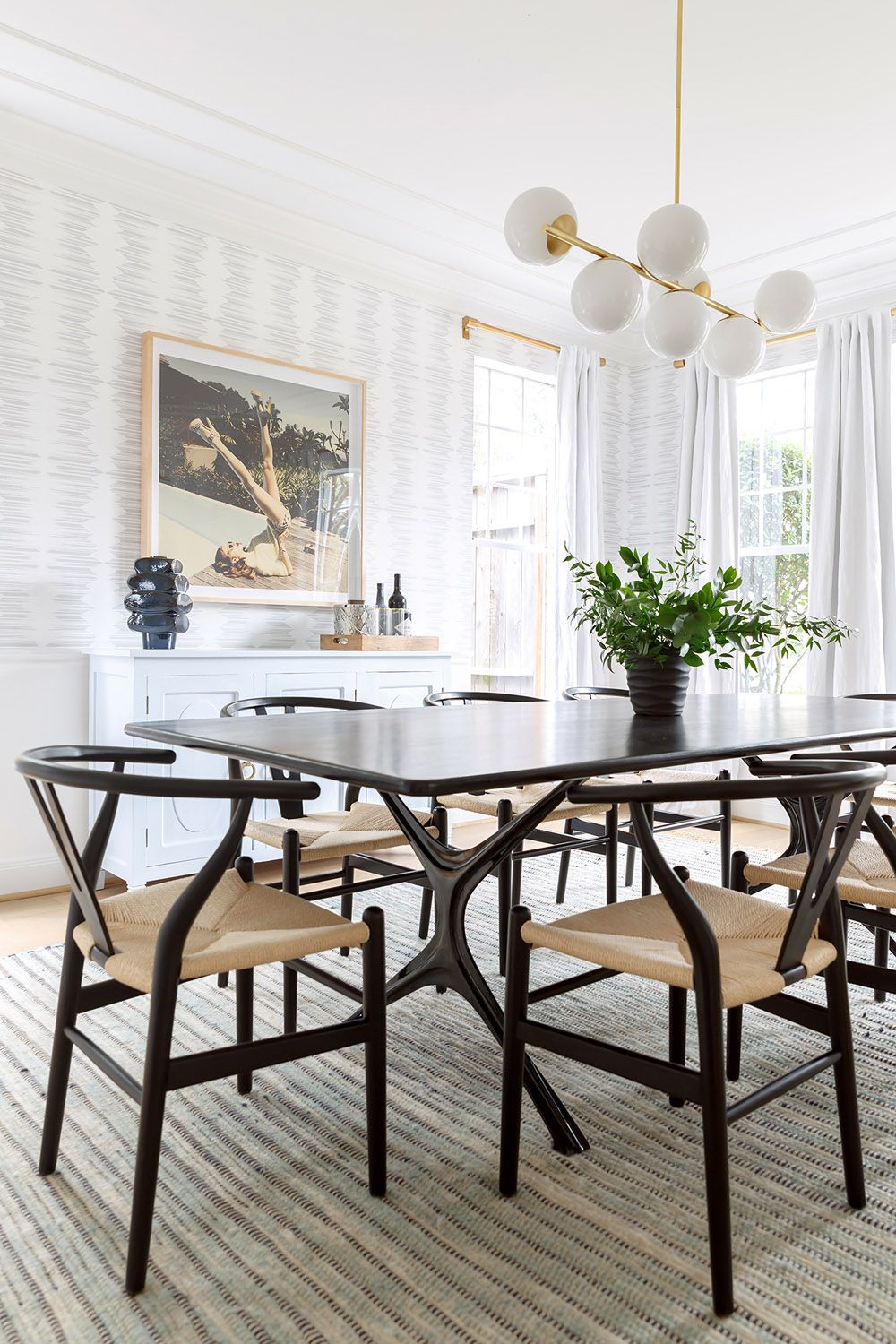 11 Dining Rooms With Black Chairs Casual Dining Rooms Black