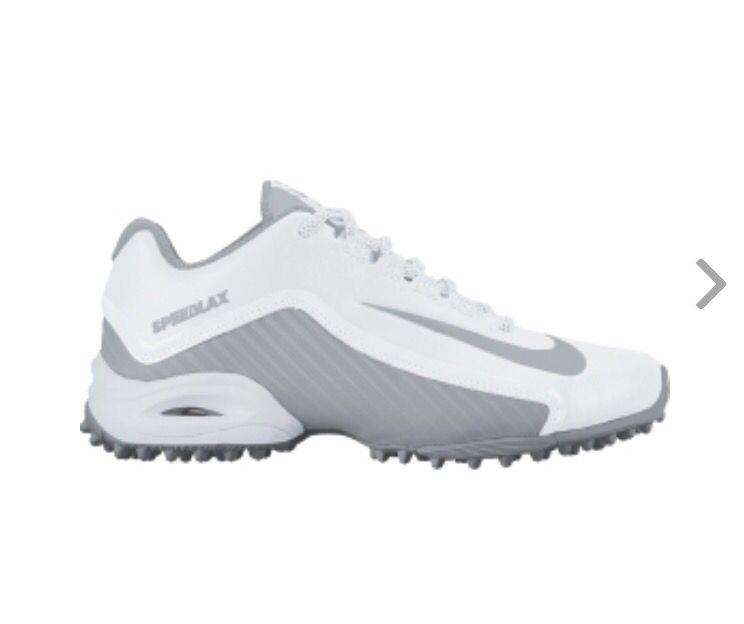 VINTAGE MENS NIKE Air Max Lacrosse Size 10 Green Blue White