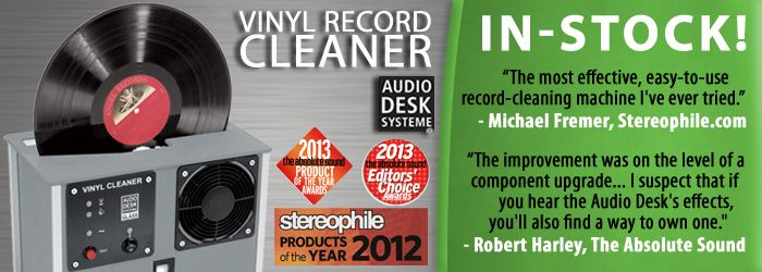 Audio Desk Systeme Vinyl Record Cleaner