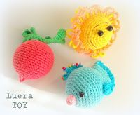 Locker cu jucării ♡ Luera TOY: Materiale tricotate jucării