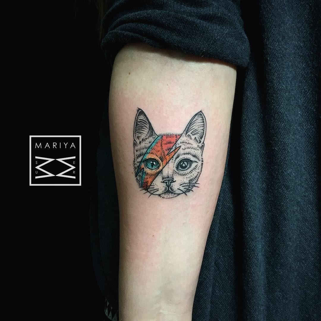 Pin by Janek Sz on Good shit | Bowie tattoo, David bowie ...