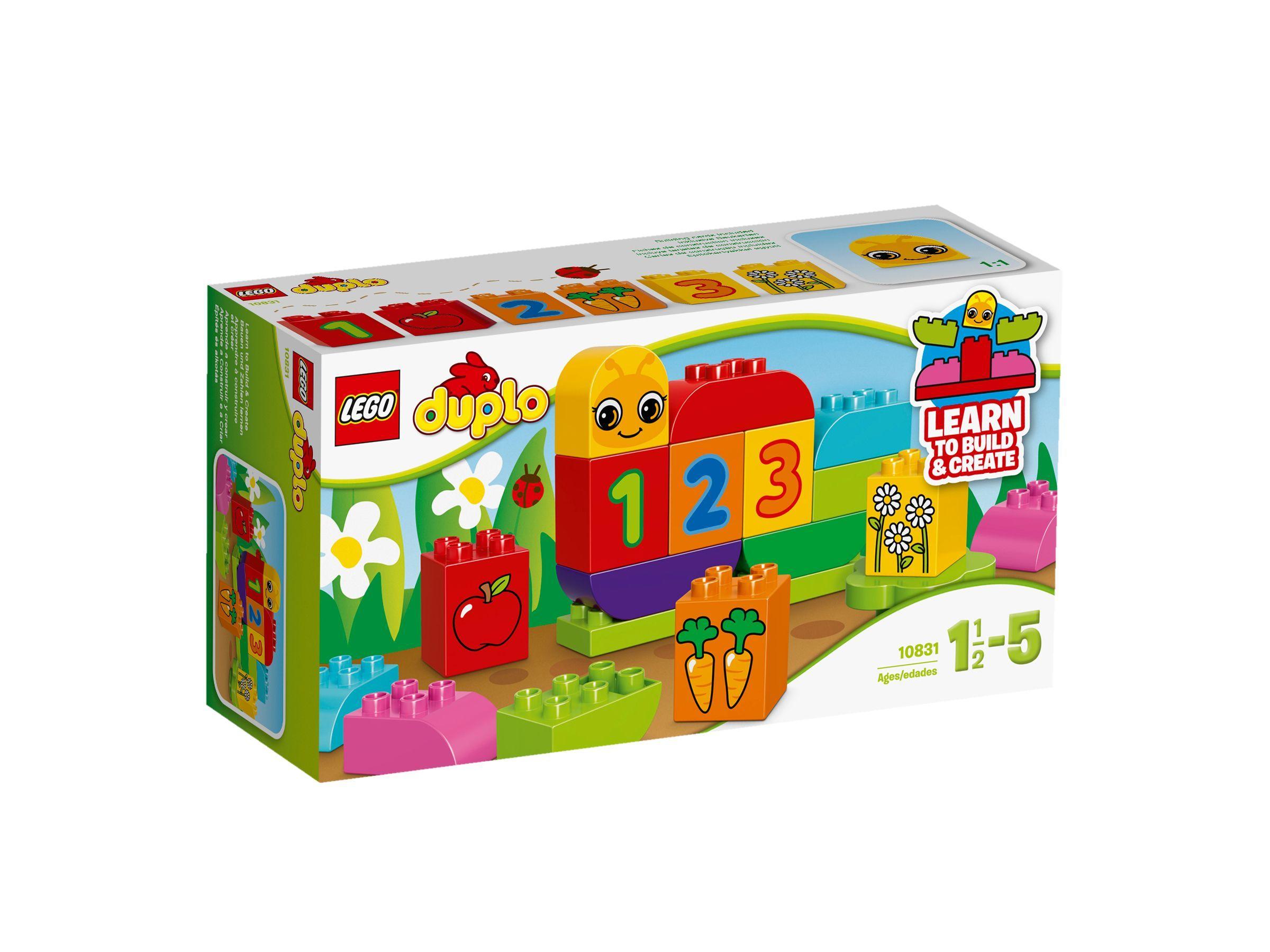 #Lego #LEGO® #10831 LEGO DUPLO Meine erste Zahlenraupe ...