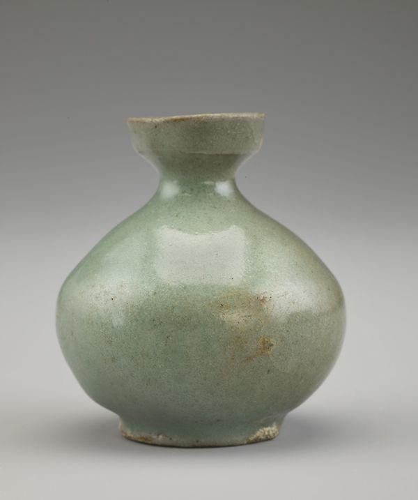Korean Art Bottle F1907 307 Korean Art Bottle Art Pottery Art