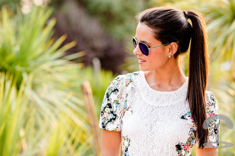White Lace Dress - Crimenes de la Moda