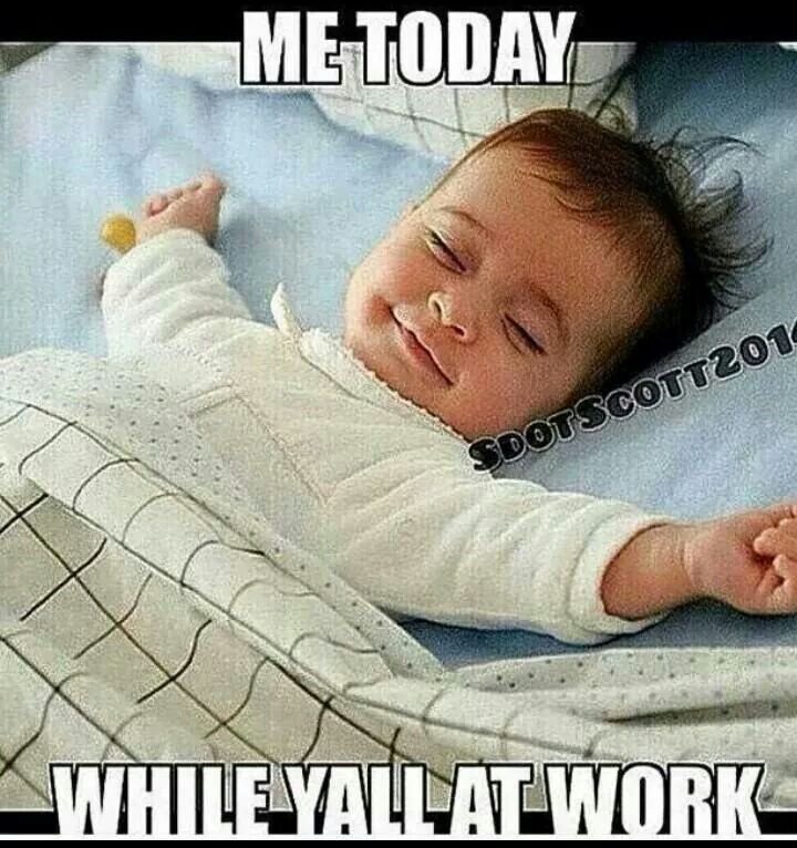 Hahaha! Great one to post on vacation days from work