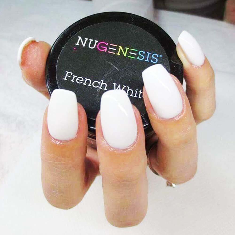 Dip Powder French White Manicure by NuGenesis Nails | NAIL POLISH ...