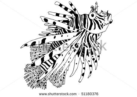 lionfish clipart - Google Search