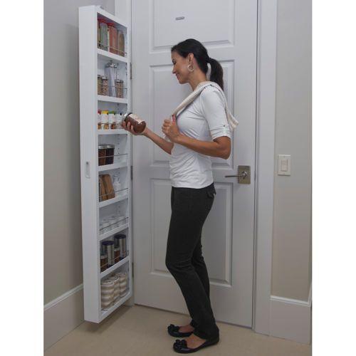 Cabidor 174 Classic Deluxe Behind Door Storage Cabinet