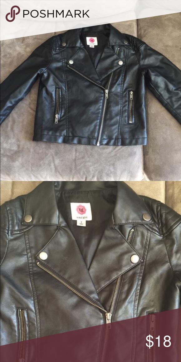 Girls Jacket Size M Faux Leather Jackets & Coats