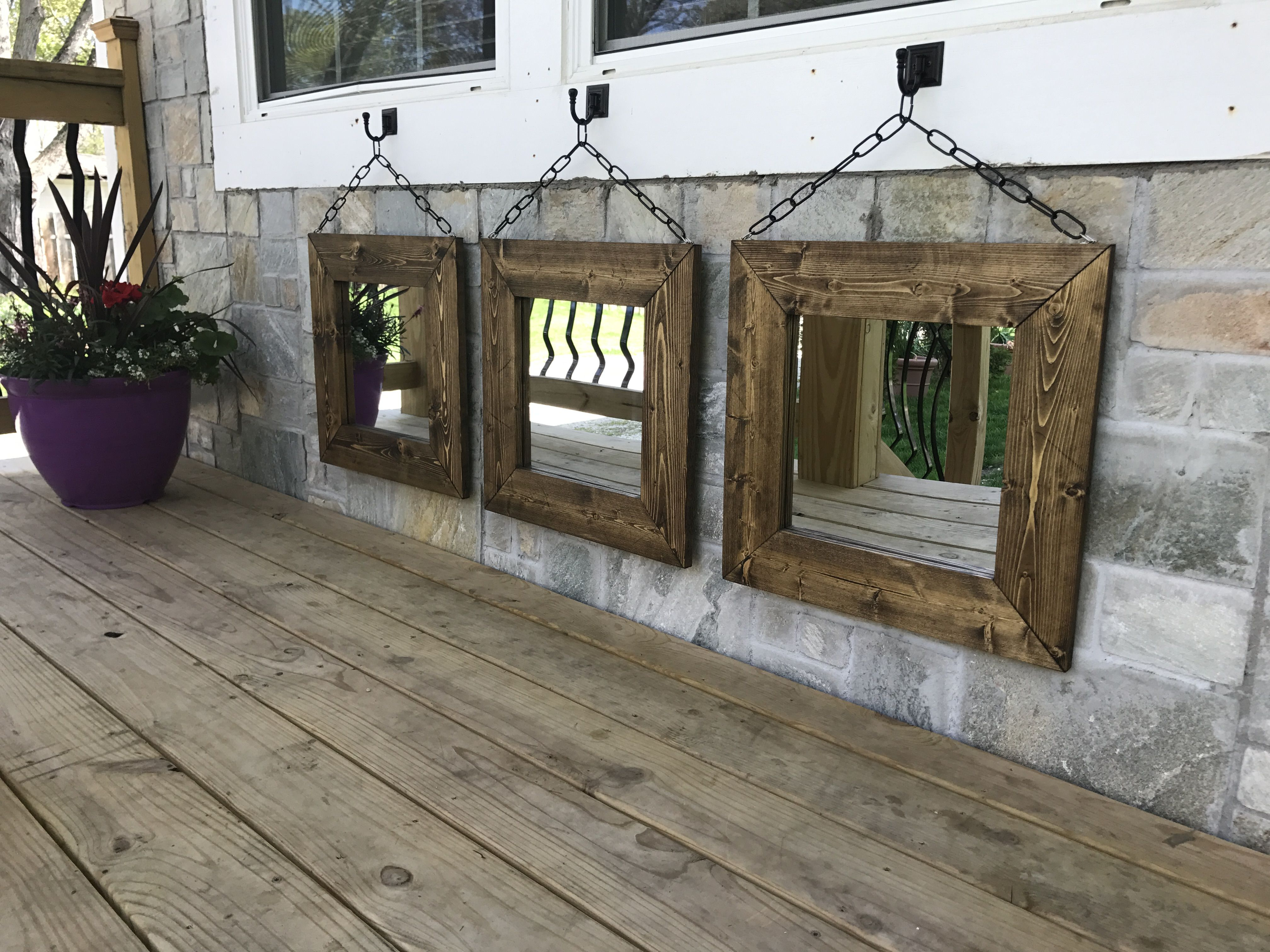 Small Decorative Wooden Mirrors Entryway Bathroom Bedroom Hallway Hallway Mirror Mirror Decor Mirror Wall Bedroom