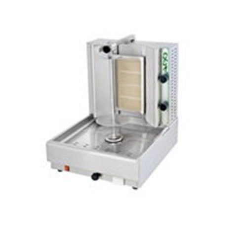 Eurodib Gyros Gas Machine 32 5 8 X 20 7 8 X 25 1 4 Inch 1 Each Double Burner Gas Gyro