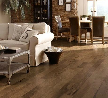 Hickory Smokehouse Engineered Hardwood From The Somerset Color