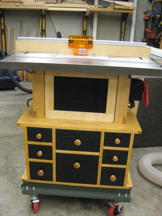 Router table cabinet for bench dog cast iron router table by router table cabinet for bench dog cast iron router table greentooth Choice Image