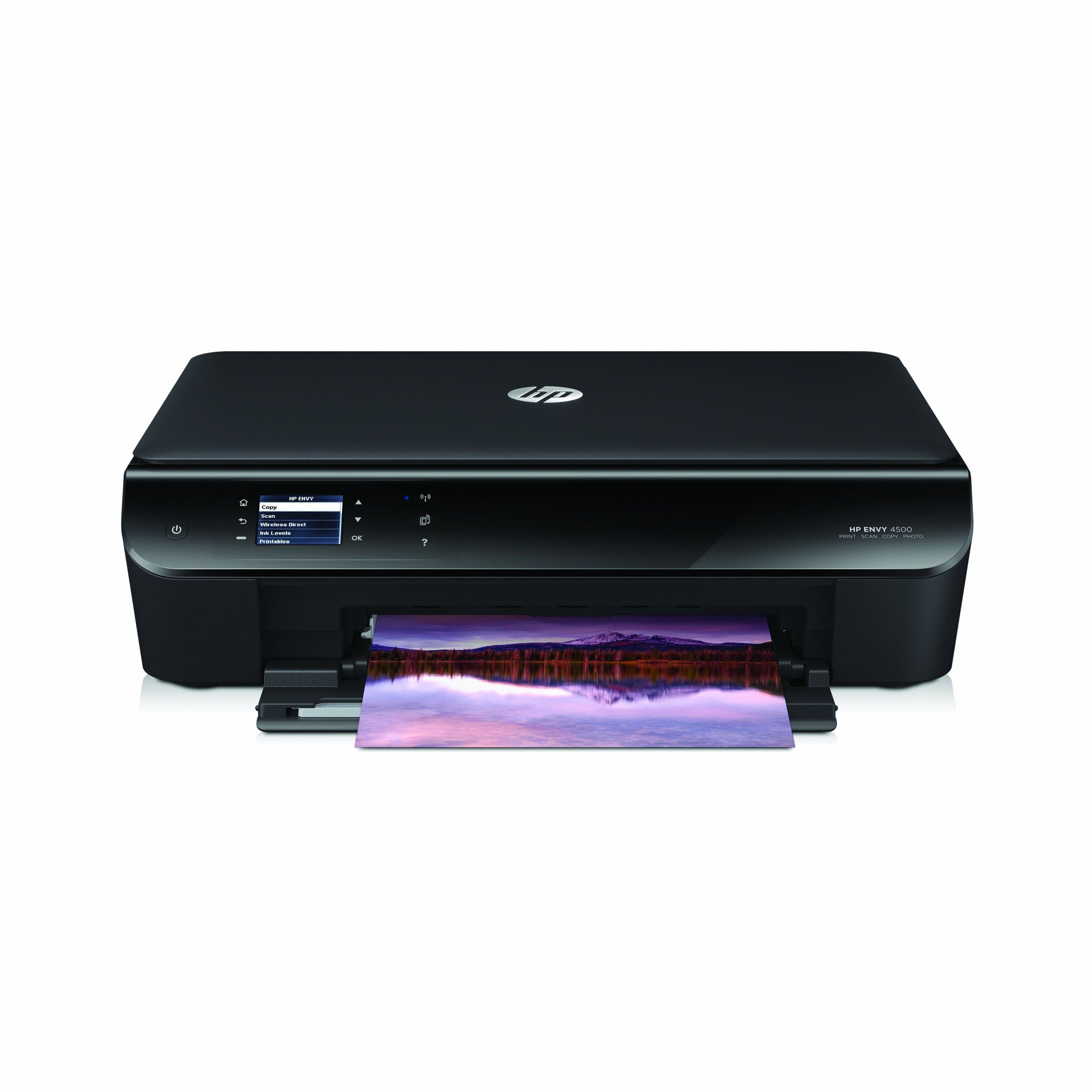 Hp Envy 4500 Wireless Color Photo Printer With Scanner And Copier Wireless Printer Mobile Print Printer
