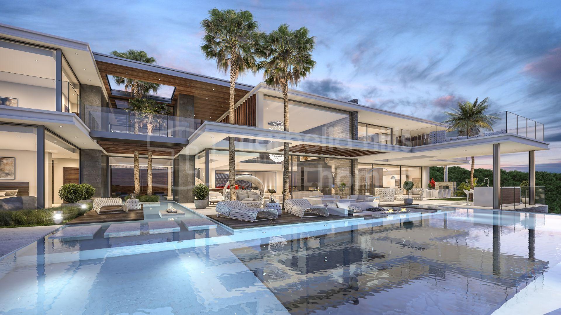 Nouvelle réalisation d\'une luxueuse villa à La Zagaleta ...