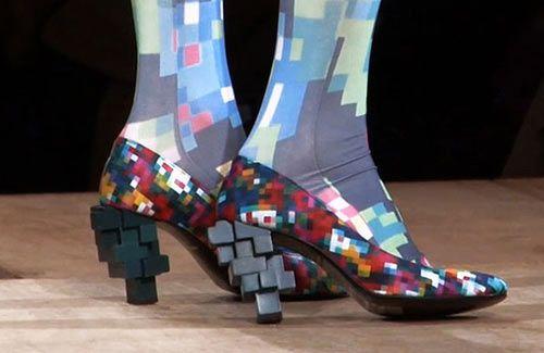 Pixel fashion | Beautifully Imperfects