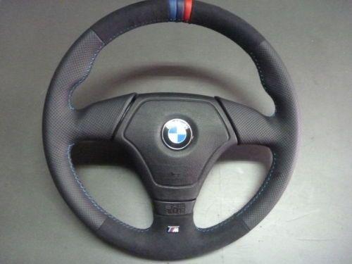 Alcantara With Leather Steering Wheel Leather Steering