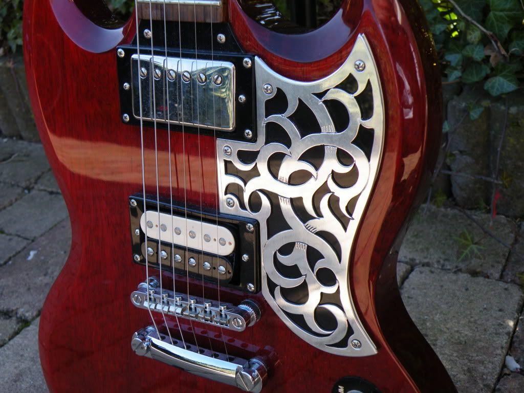 Pickguards That Fit Epiphone Sgs Epiphone Epiphone Sg Guitar