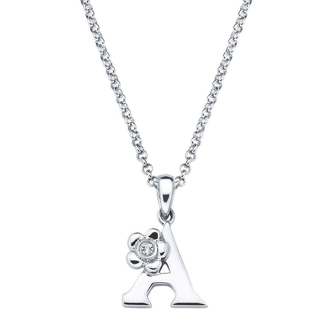 33+ Diamond letter pendant necklace ideas in 2021