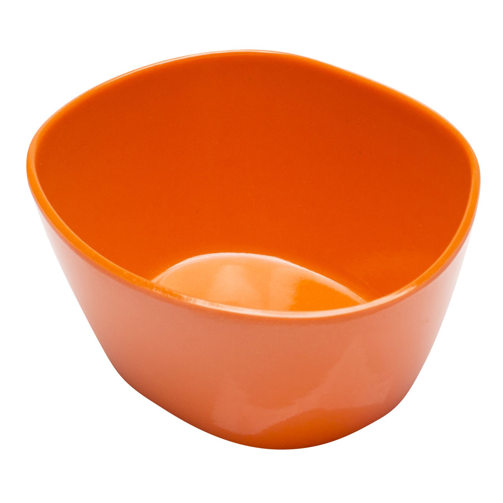Moso Bamboo Tapas Bowl Orange front view Appetizer