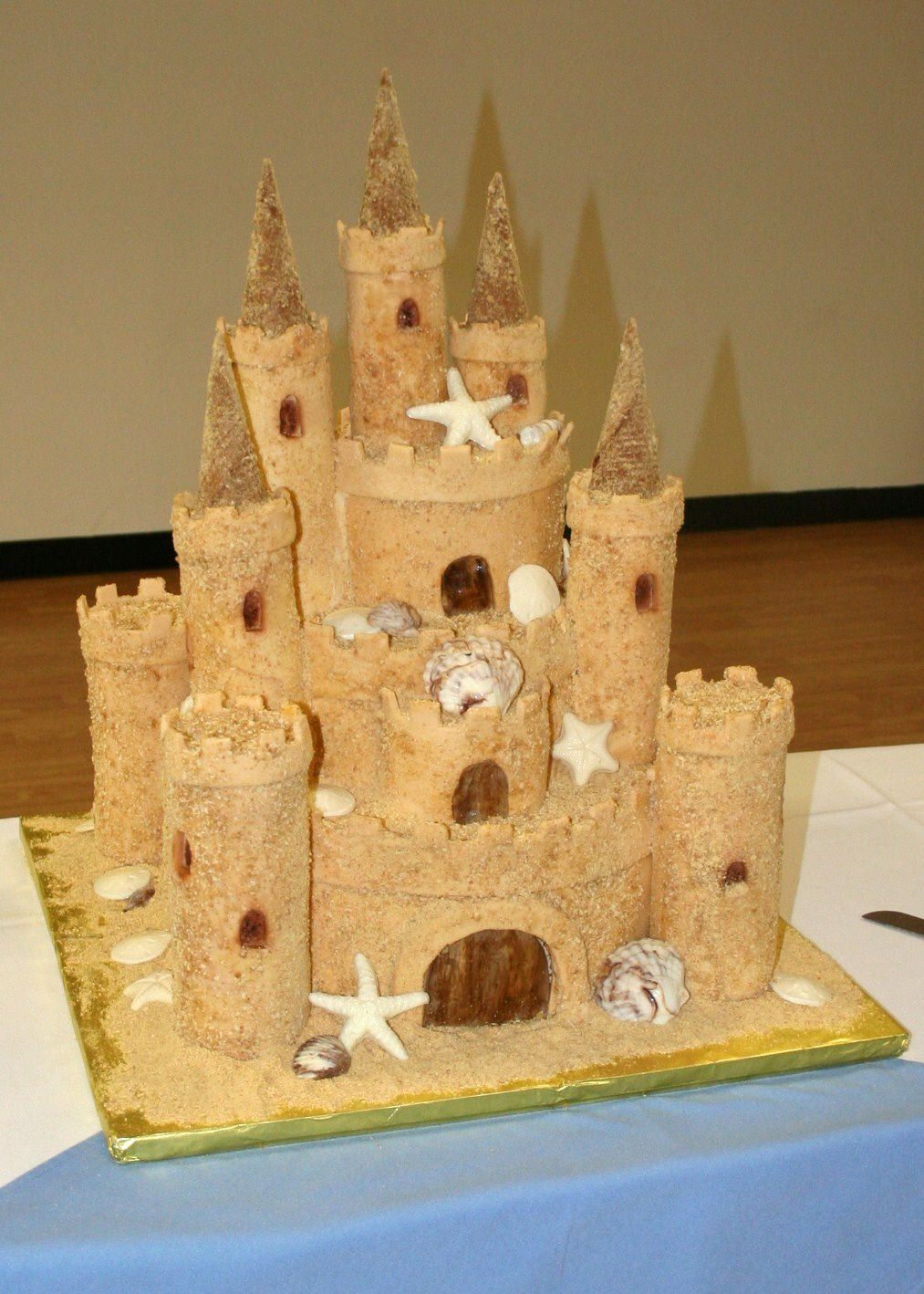 Sand Castle Wedding Cakes Providing Beautiful Wedding