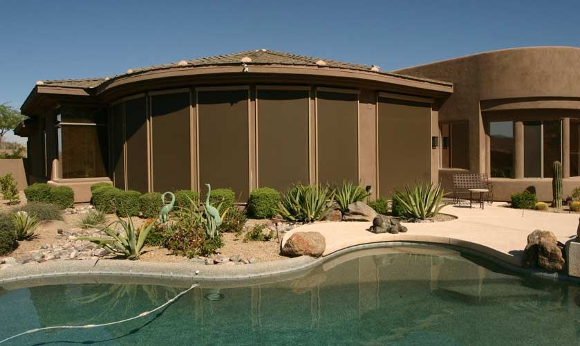 Sun City Awning Retractable Screens Serving Phoenix In