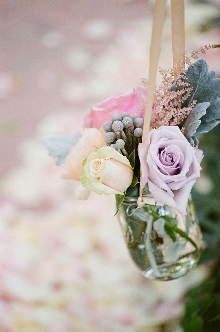 hanging wedding mason jar, flowers wedding decor, inspired ...
