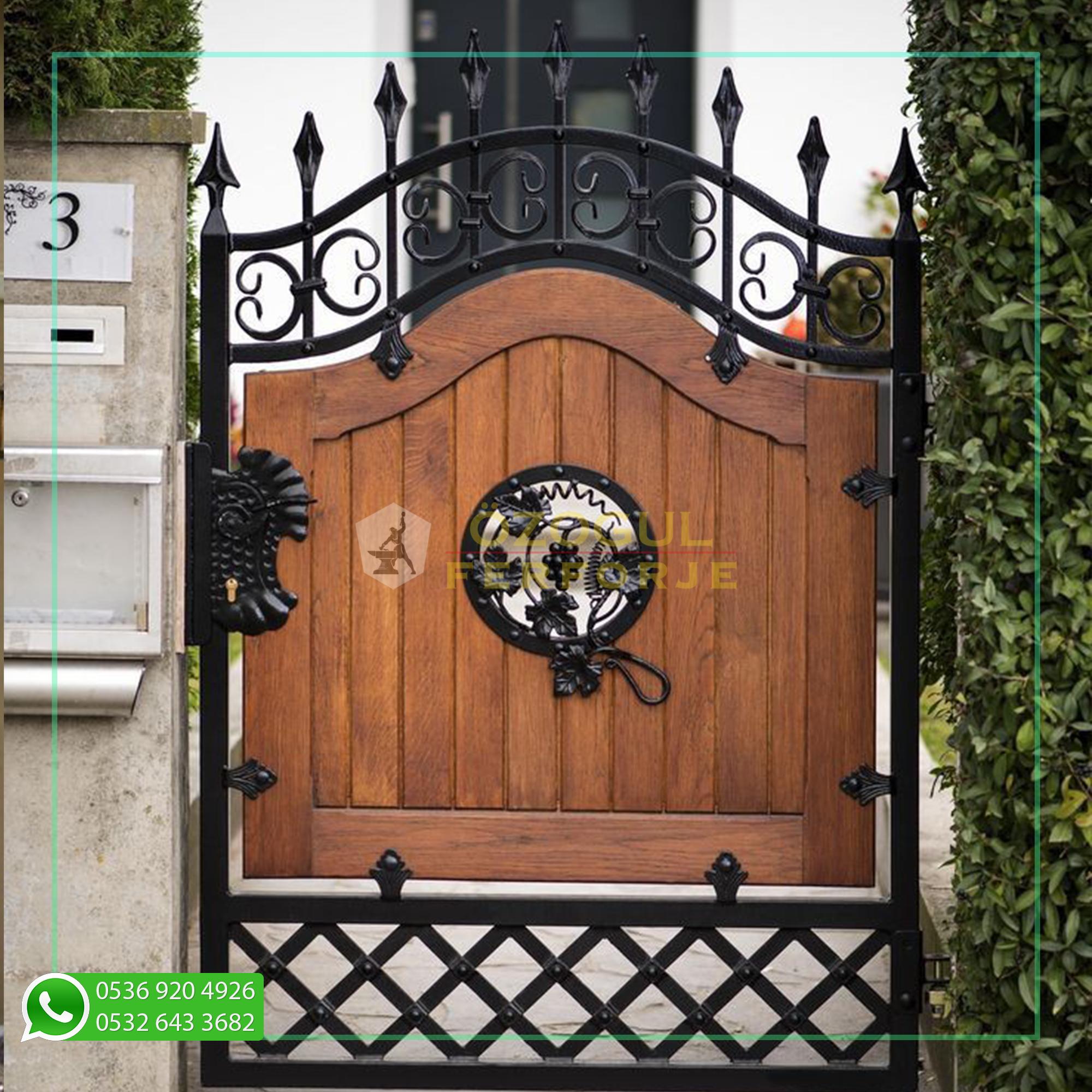 Photo of Wrought Iron Special Design Garden Gate / Wrought Iron Special Design Garden Gate