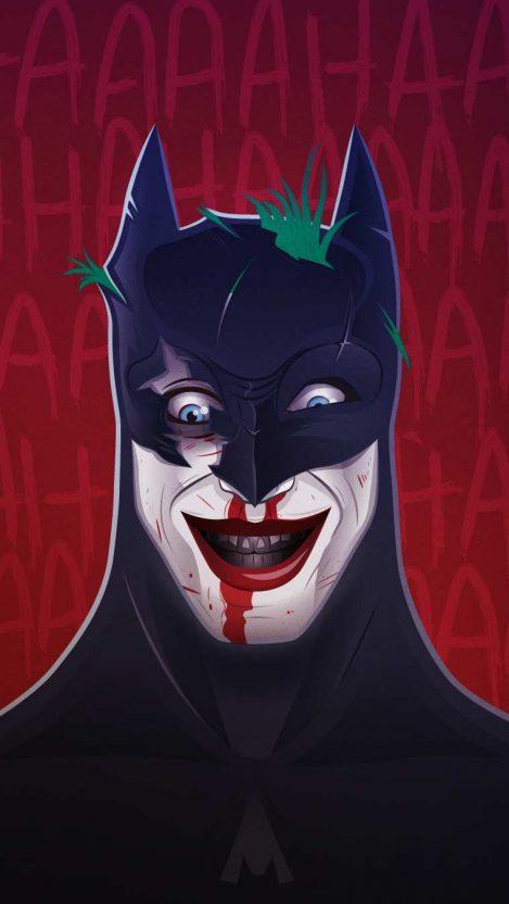 Joker in Batman Mask iPhone Wallpaper Free GetintoPik
