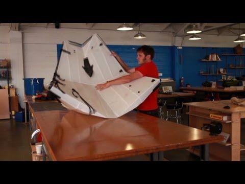 TV BREAKING NEWS The origami-inspirted folding kayak - http://tvnews.me/the-origami-inspirted-folding-kayak/