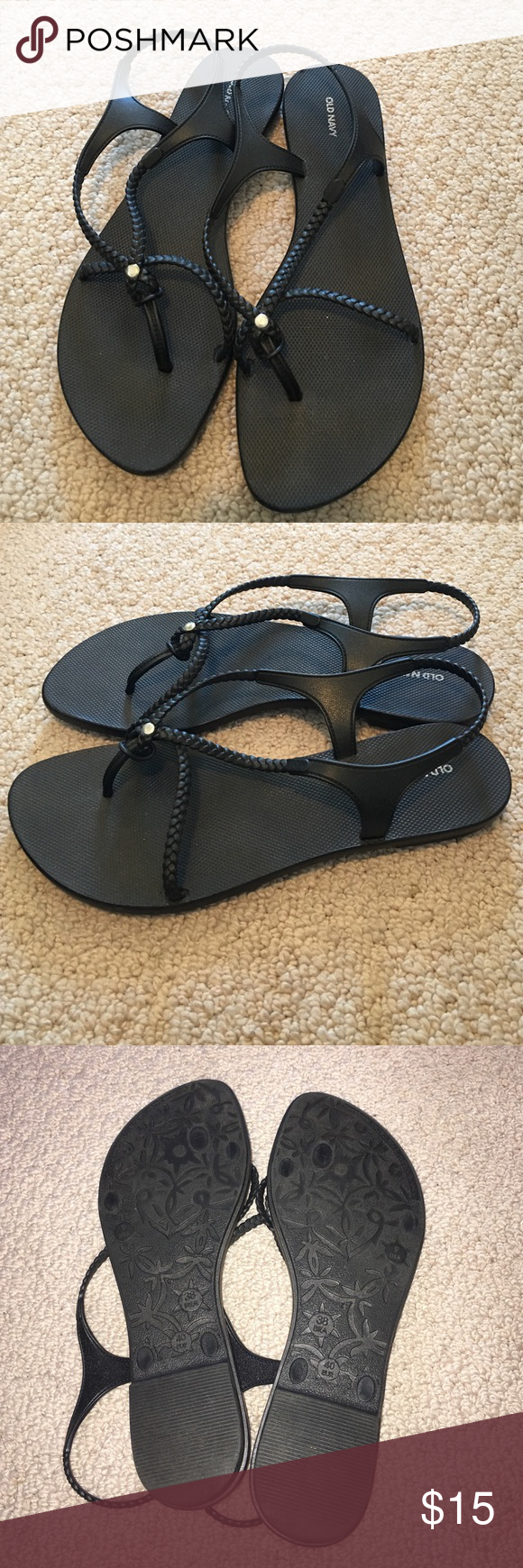 ✨ Old Navy rubber sandals ✨ | Rubber
