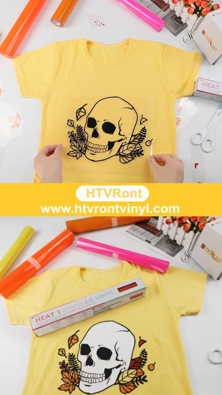 DIY T-shirts - Vinyl Project - Made by HTVRont Hea