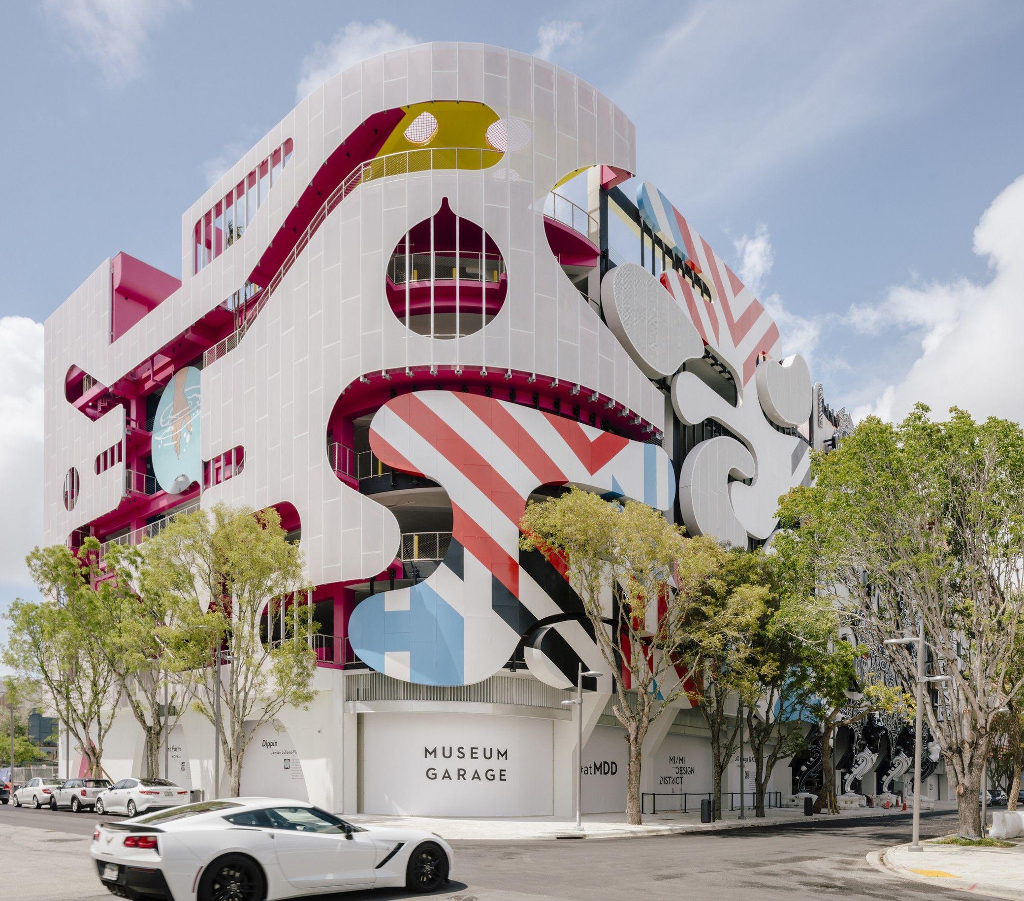 Miami Museum Garage Workac Nicolas Buffe Clavel Arquitectos K R And J Mayer H Architects Arch2o Com Miami Design Miami Architecture Garage Design