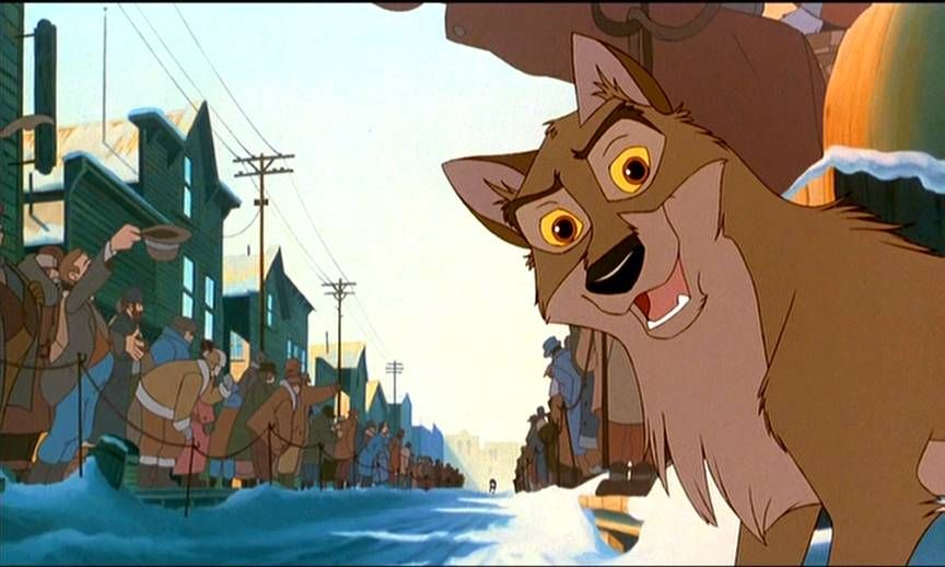 Balto. I think my cousin Ashley watched this movie