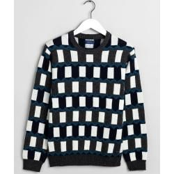 Photo of Gant All-Over Fairisle Pullover (Blau) Gant