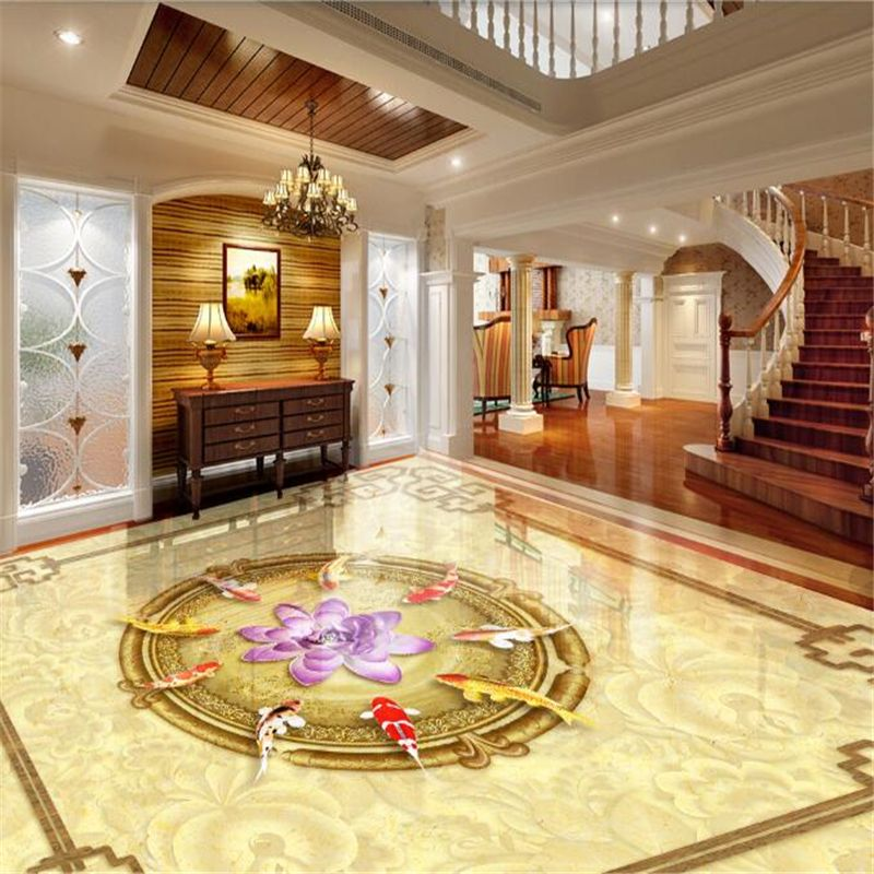 3d Floor Art For Luxury Classic Living Room In The Last Few