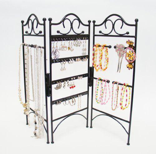 DIY Tulle Frame Jewelry Holder Organizations Storage organization