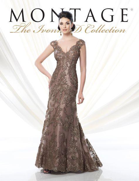Elegantes Vestidos para la Mamá de la Novia por Mon Cheri Bridals - Bodas c5ac541271a0