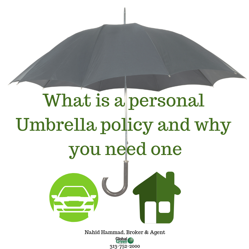 Umbrella Insurance Is Extra Liability Insurance It Is Designed To