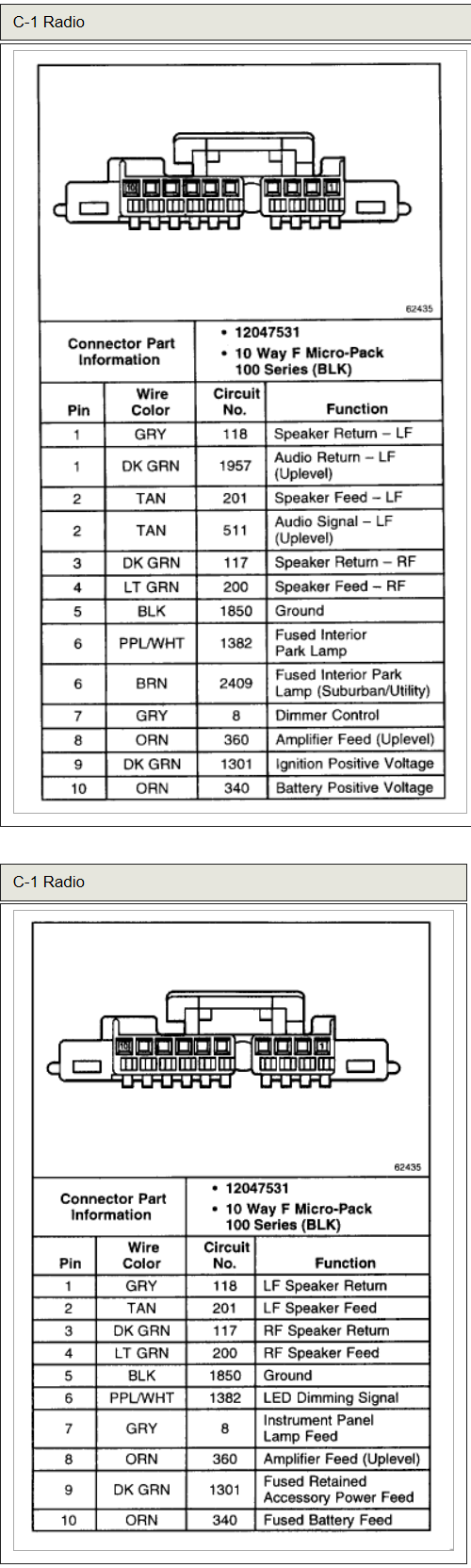 94 Lincoln Town Car Stereo Wiring Diagram Get Free Image Chevy Tahoe Chevy Trucks Radio